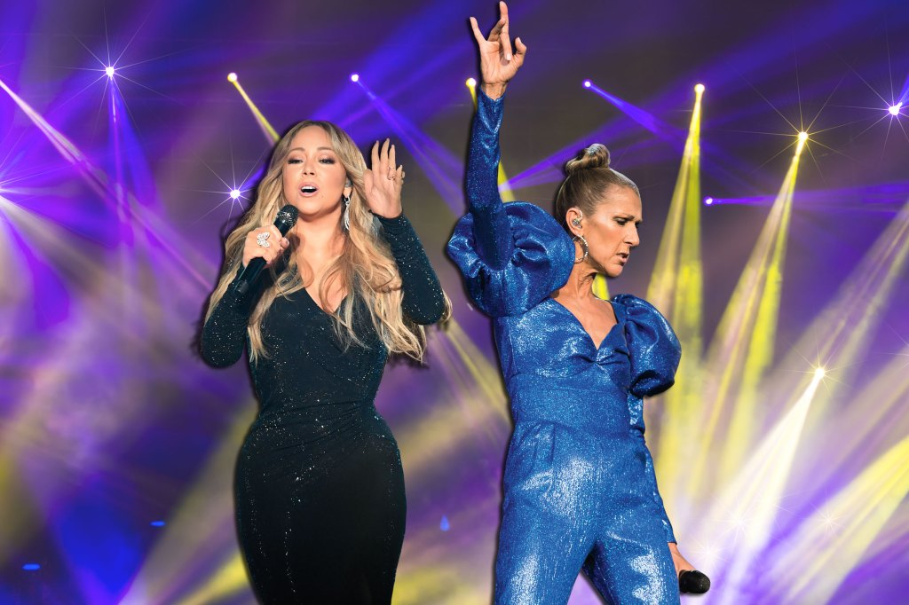 Celine and Mariah Go On and On