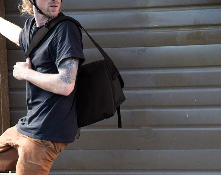 St Patricks Day Messenger Bag Cross Body Laptop School Work Bag