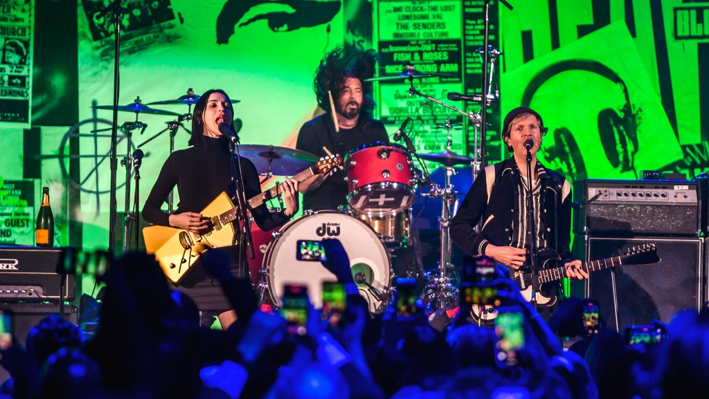 January 4, 2020: Dave Grohl & Friends perform at The Art of Elysium Heaven Gala at the Hollywood Palladium