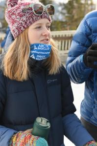 Eva Jones at the World Economic Forum in Davos, Switzerland.