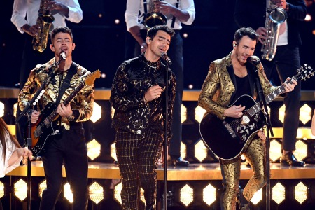 Watch The Jonas Brothers Preview a New Song at the Grammys