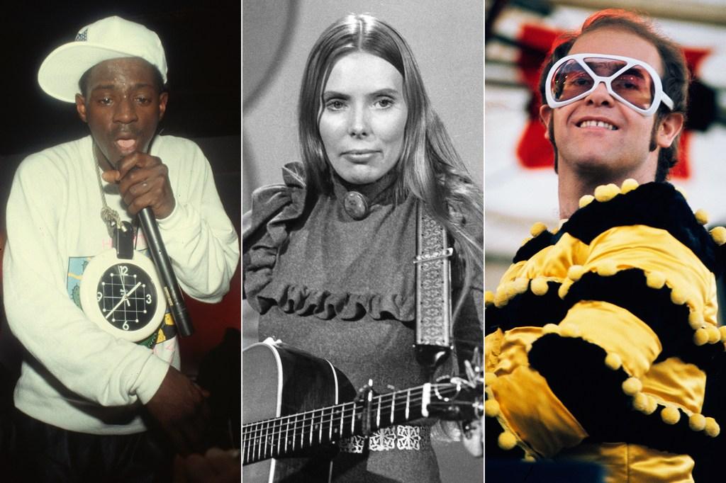 Elton John, Public Enemy, Joni Mitchell Recordings Added to Grammy Hall of Fame