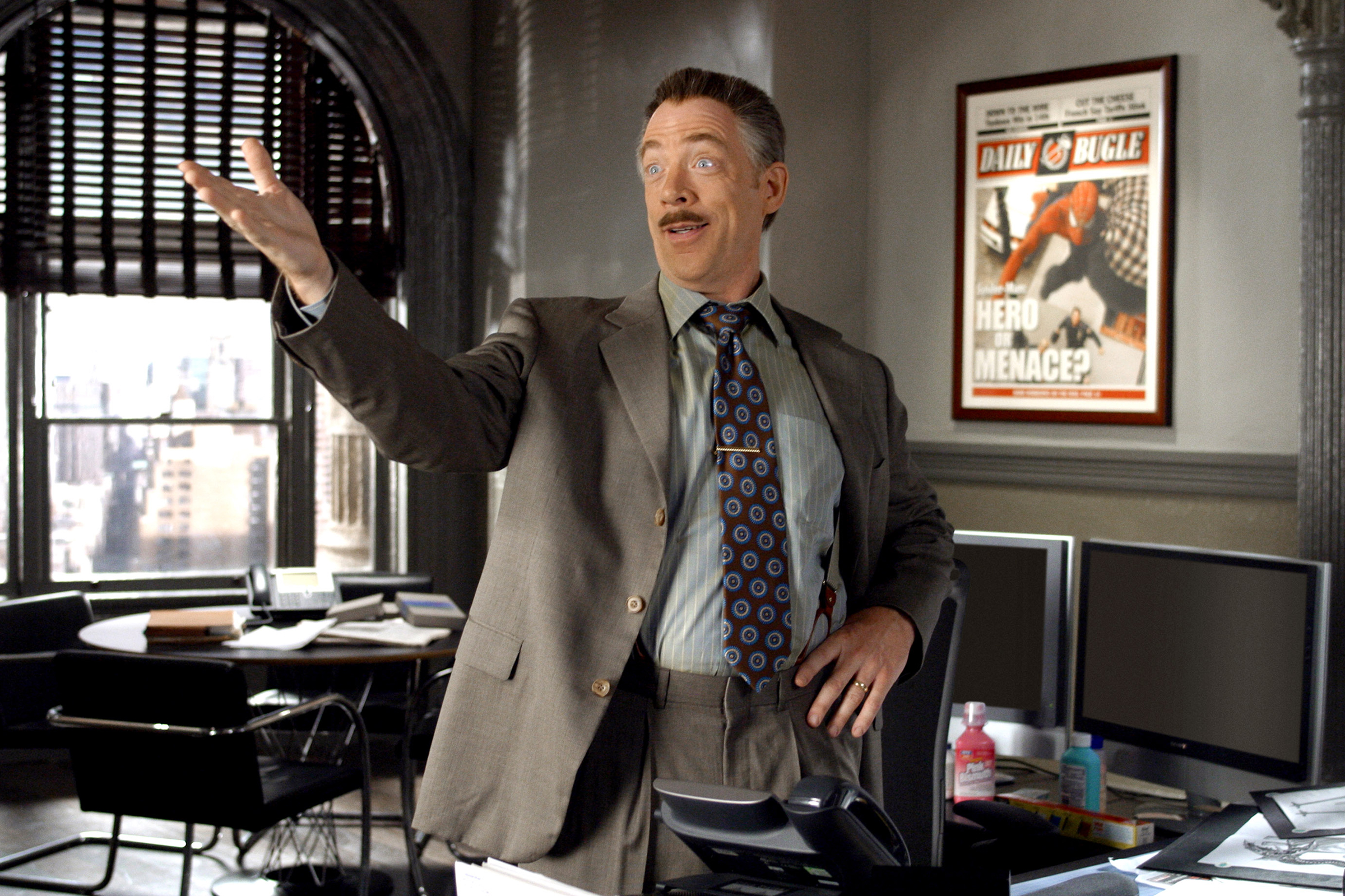 J.K. Simmons, in Spider-Man 2.
