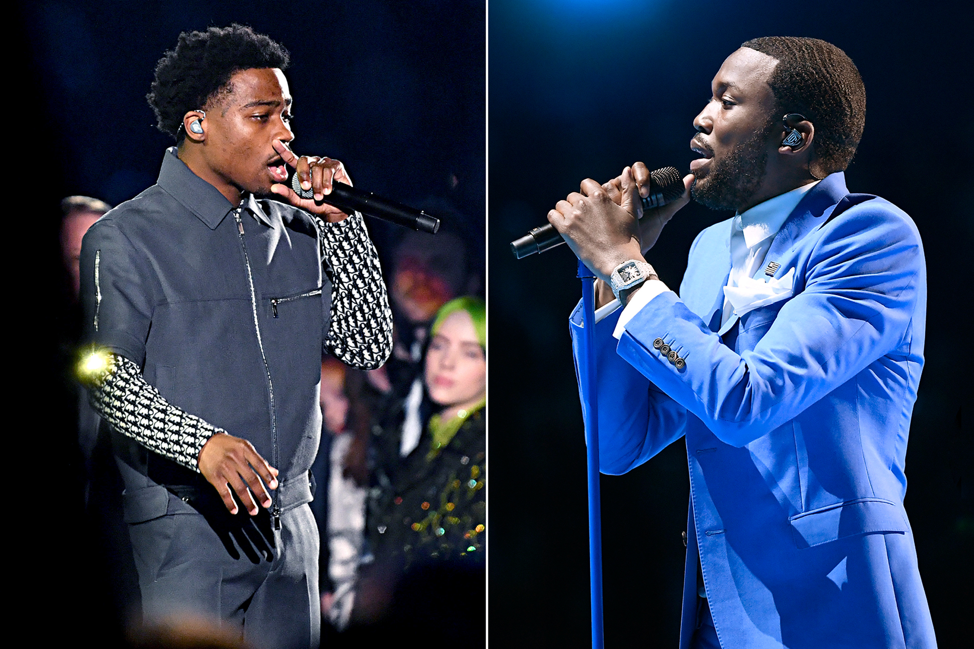 Image result for Meek Mill Grammys 2020 performance Images