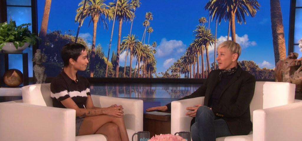 Zoë Kravitz Talks 'High Fidelity,' Training as Catwoman on 'Ellen'