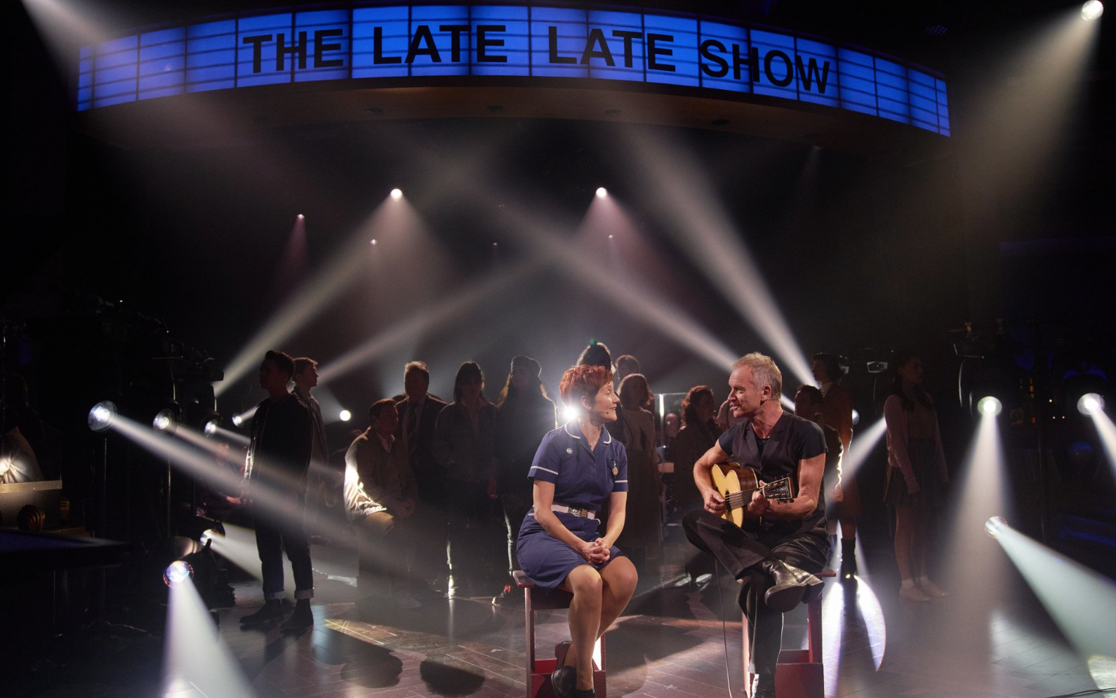 Watch Sting Perform With `The Last Ship` Cast...
