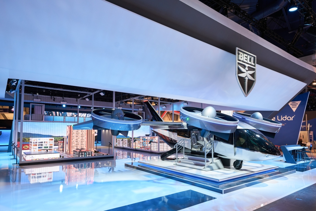 bell air taxi ces 2020