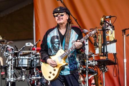 Carlos Santana Is Starting His Own Weed Strain