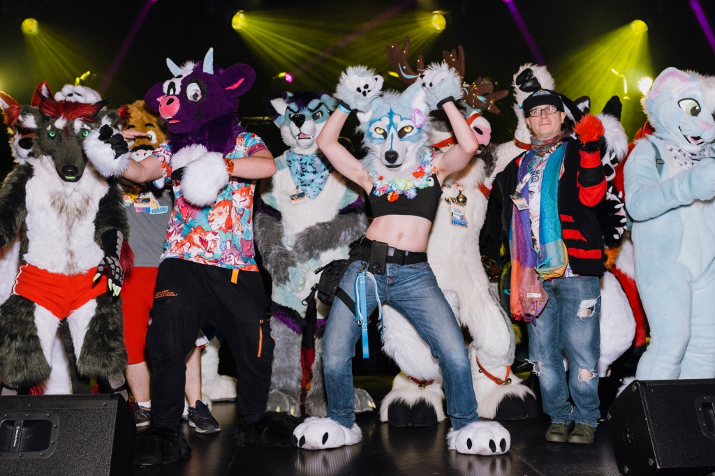 Photos: Inside Communal Furry Love at FurFest Midwest