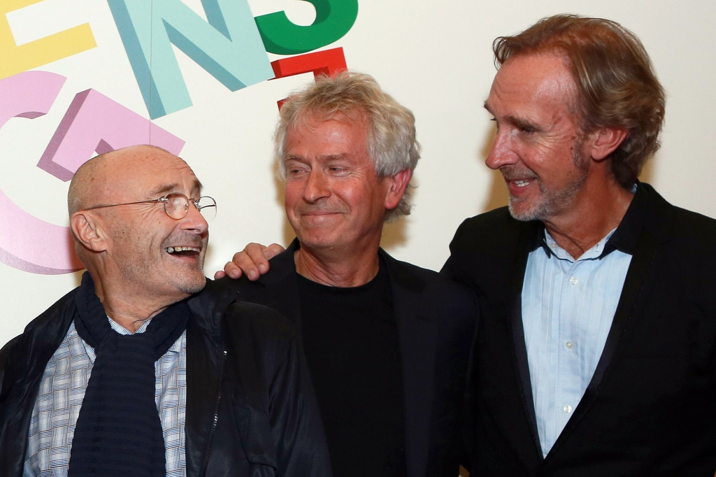 Three Members of Genesis Went to a Knicks Game -- Speculations Abound