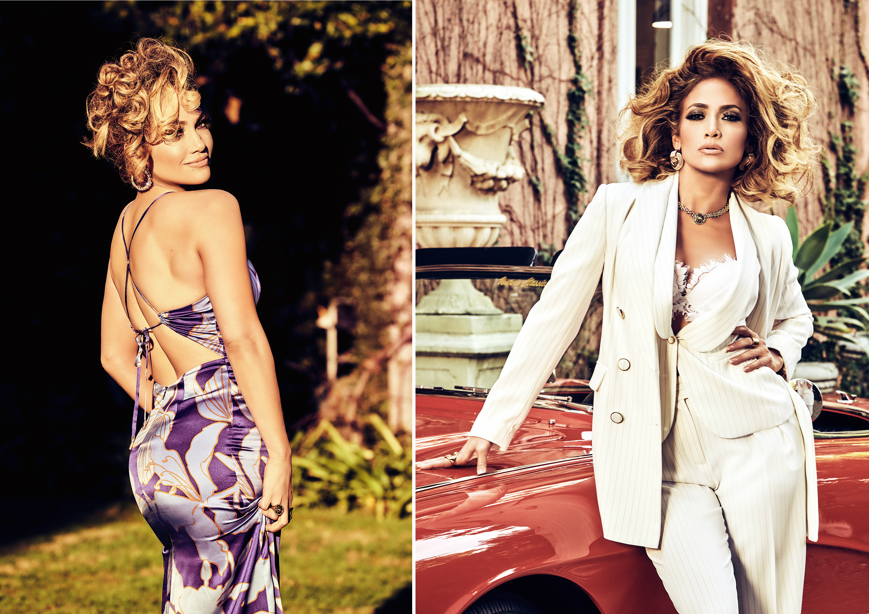 and Jennifer Marciano J. Lo Lopez  Campaign GUESS: x GUESS