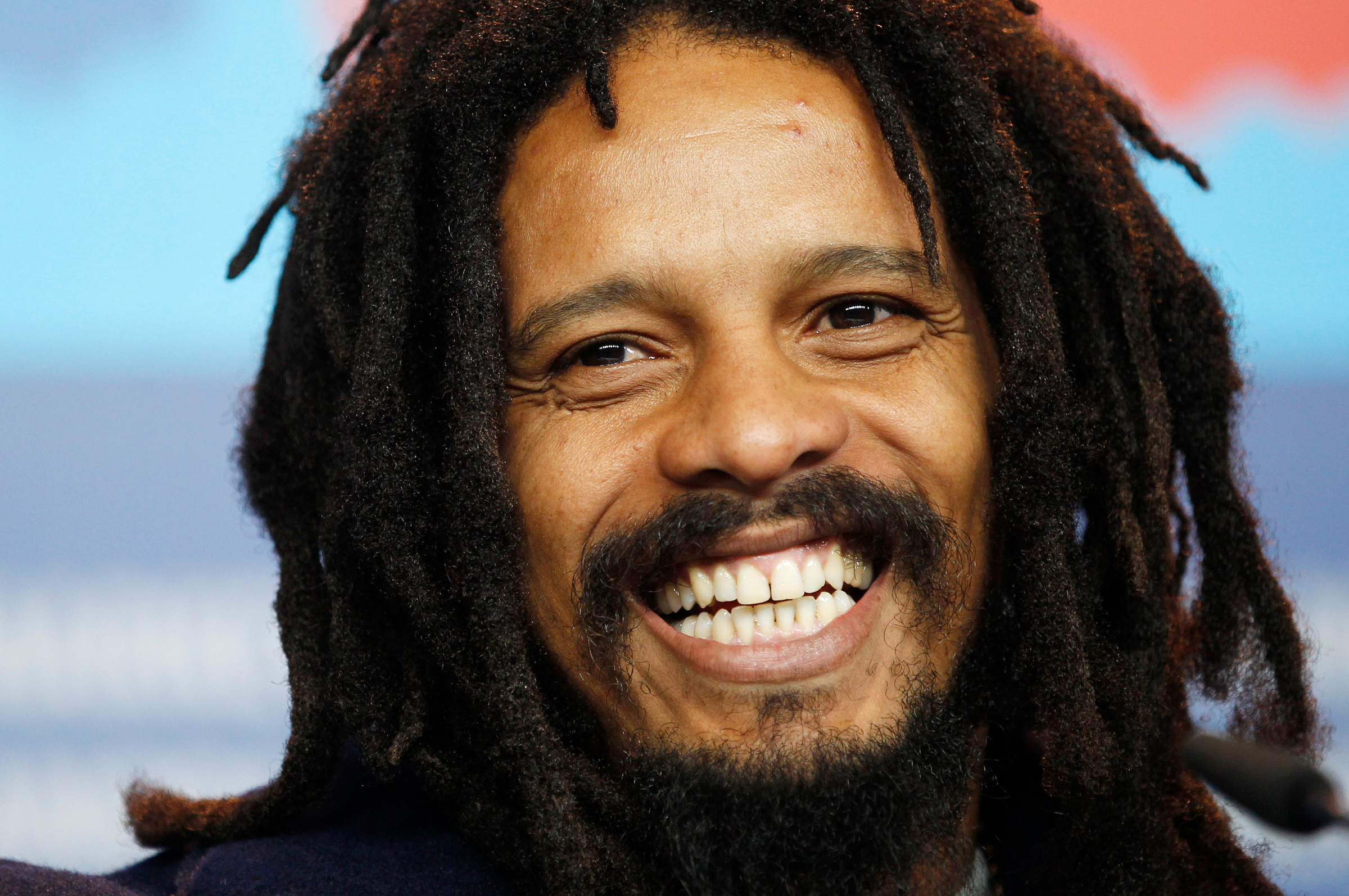Rojan Marley Protagonist Rohan Marley smiles during the press conference for the film Marley at the 62 edition of the Berlinale, International Film Festival in BerlinGermany Berlinale Marley Photo Call, Berlin, Germany