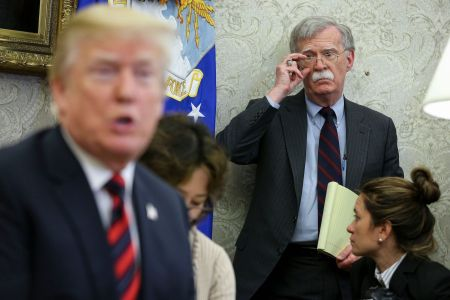 Bolton's Book Claims Trump Directly Tied Ukraine Military Aid to Investigations of Political Opponents