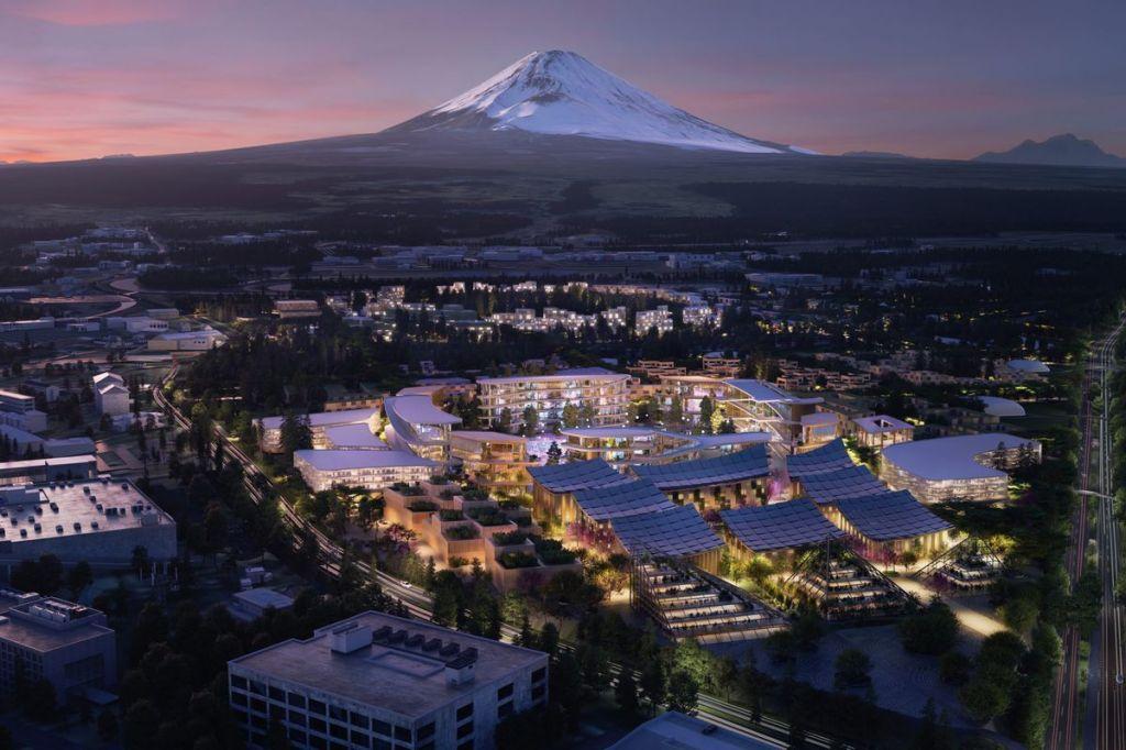 toyota woven city concept ces 2020