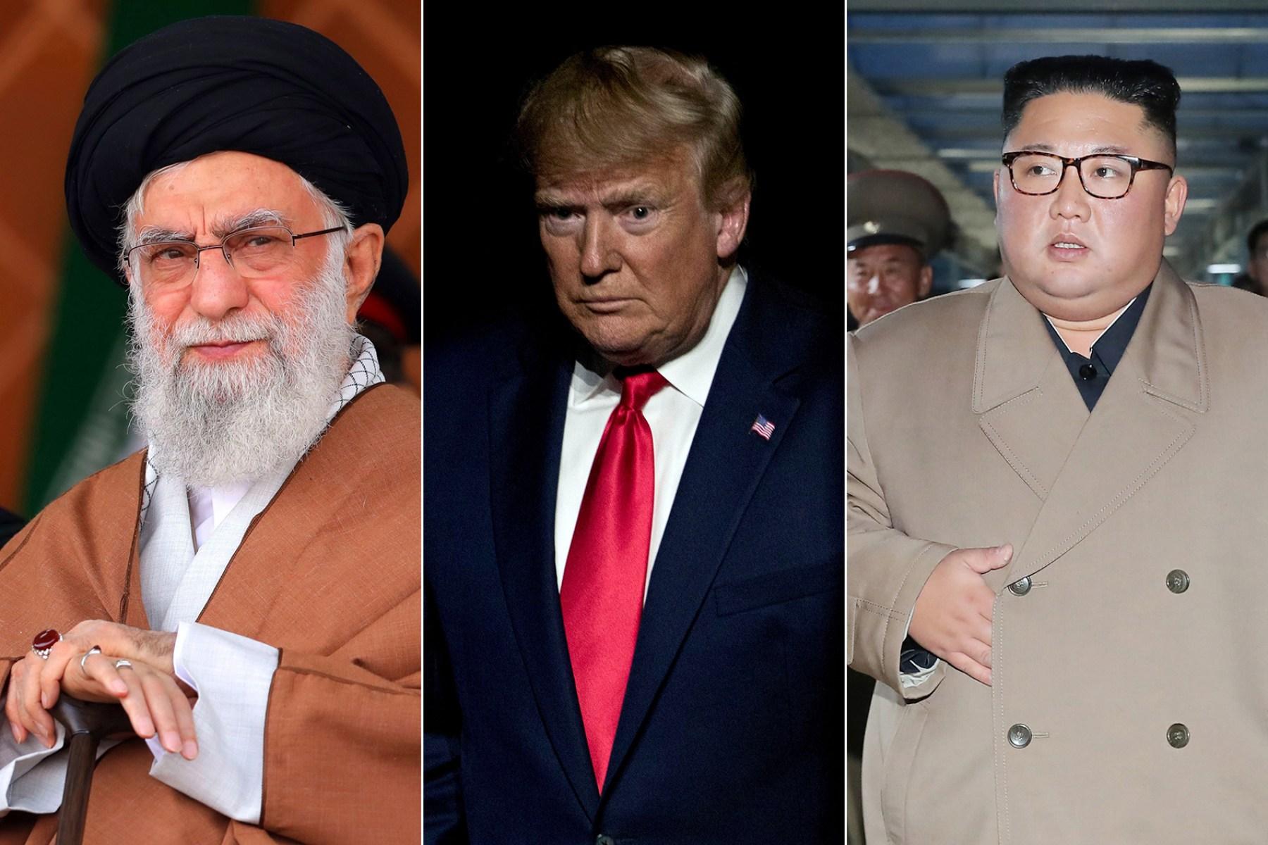 trump iran north korea