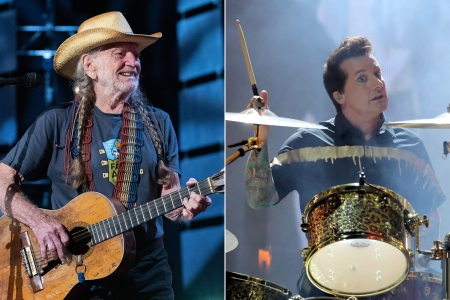 How Green Day's Tré Cool Wound Up in Willie Nelson's Band