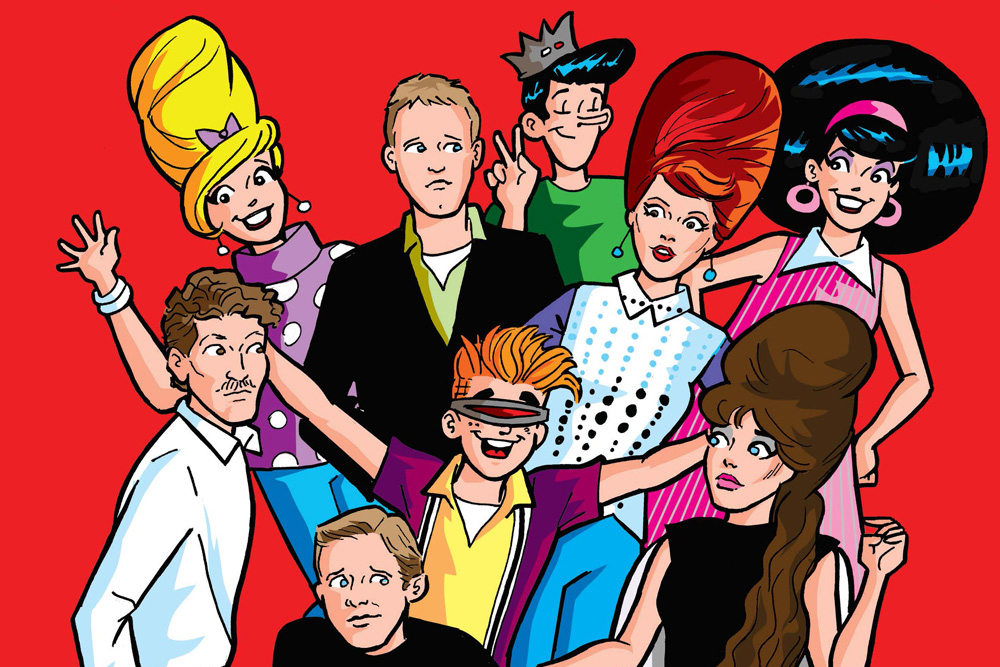 The B-52's Visit Riverdale in Archie Comics Issue