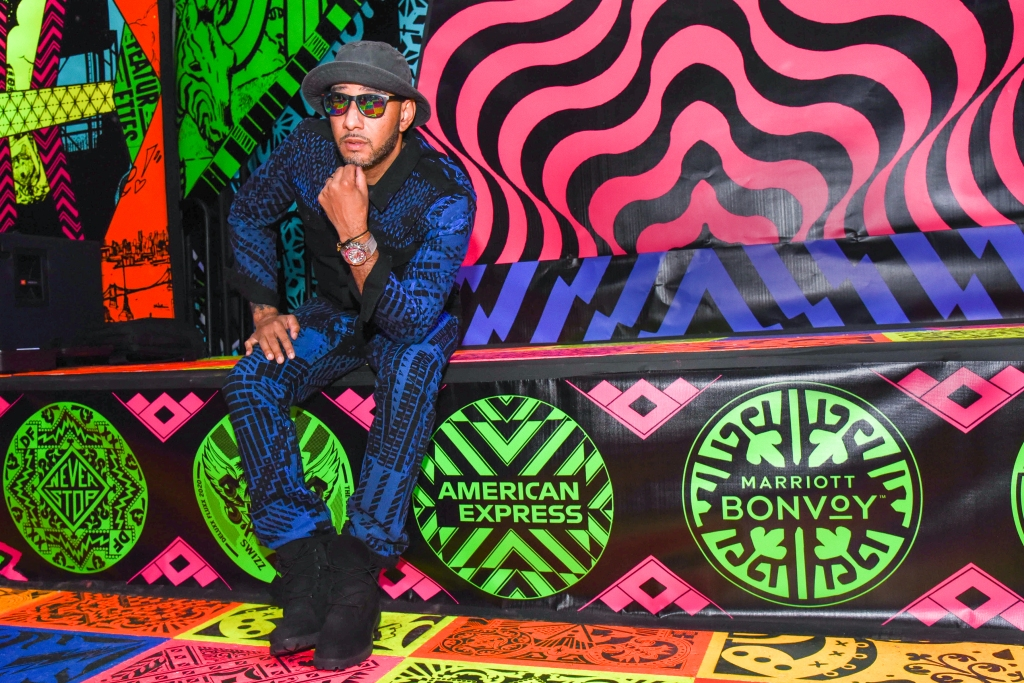Swizz Beatz art collection event