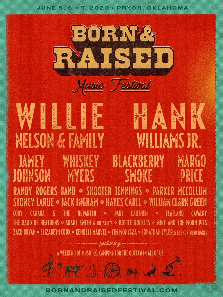 Born & Raised Music Festival lineup