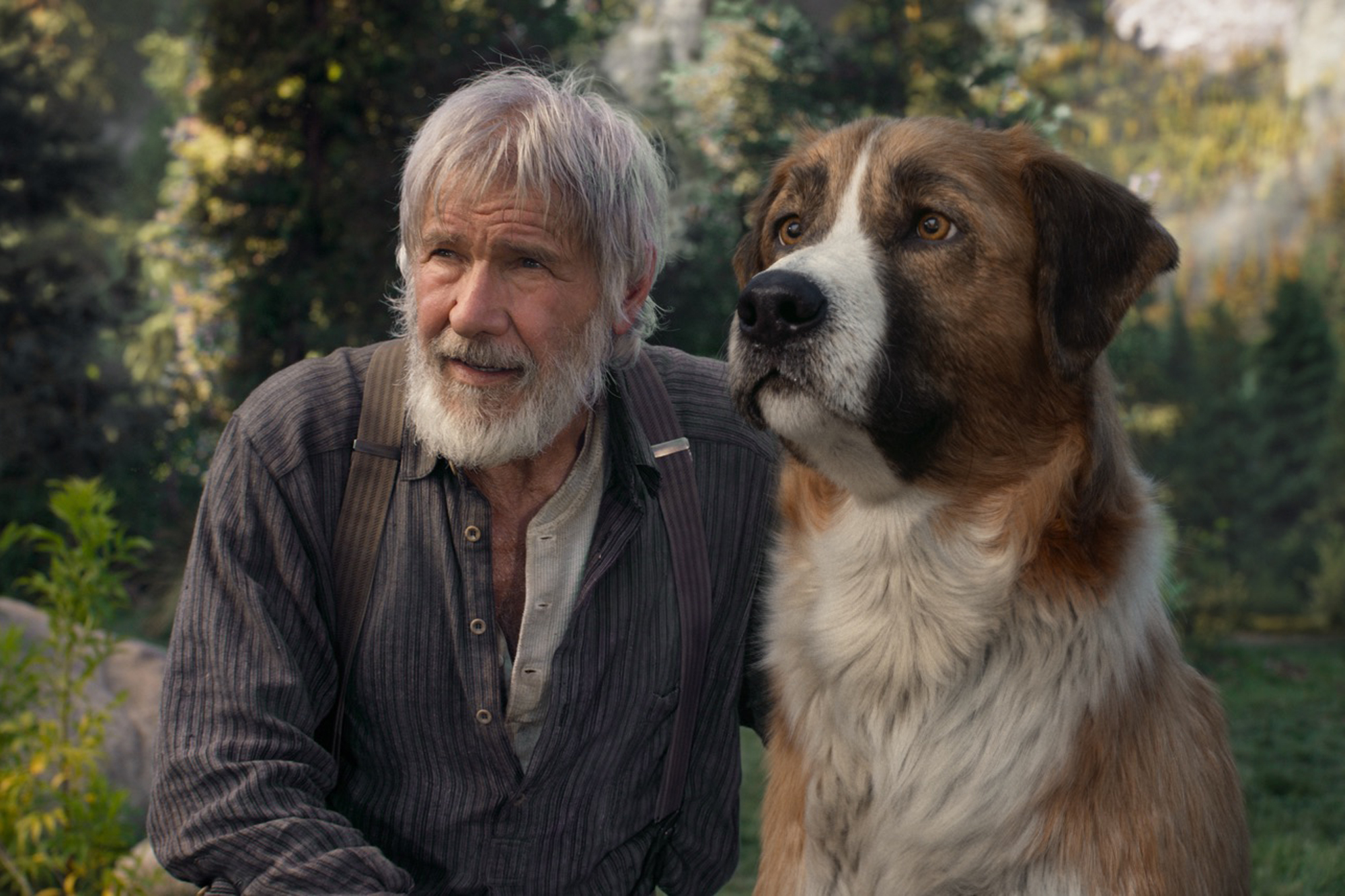 'Call of the Wild' Review: Harrison Ford's Digital-Dog Day Afternoon
