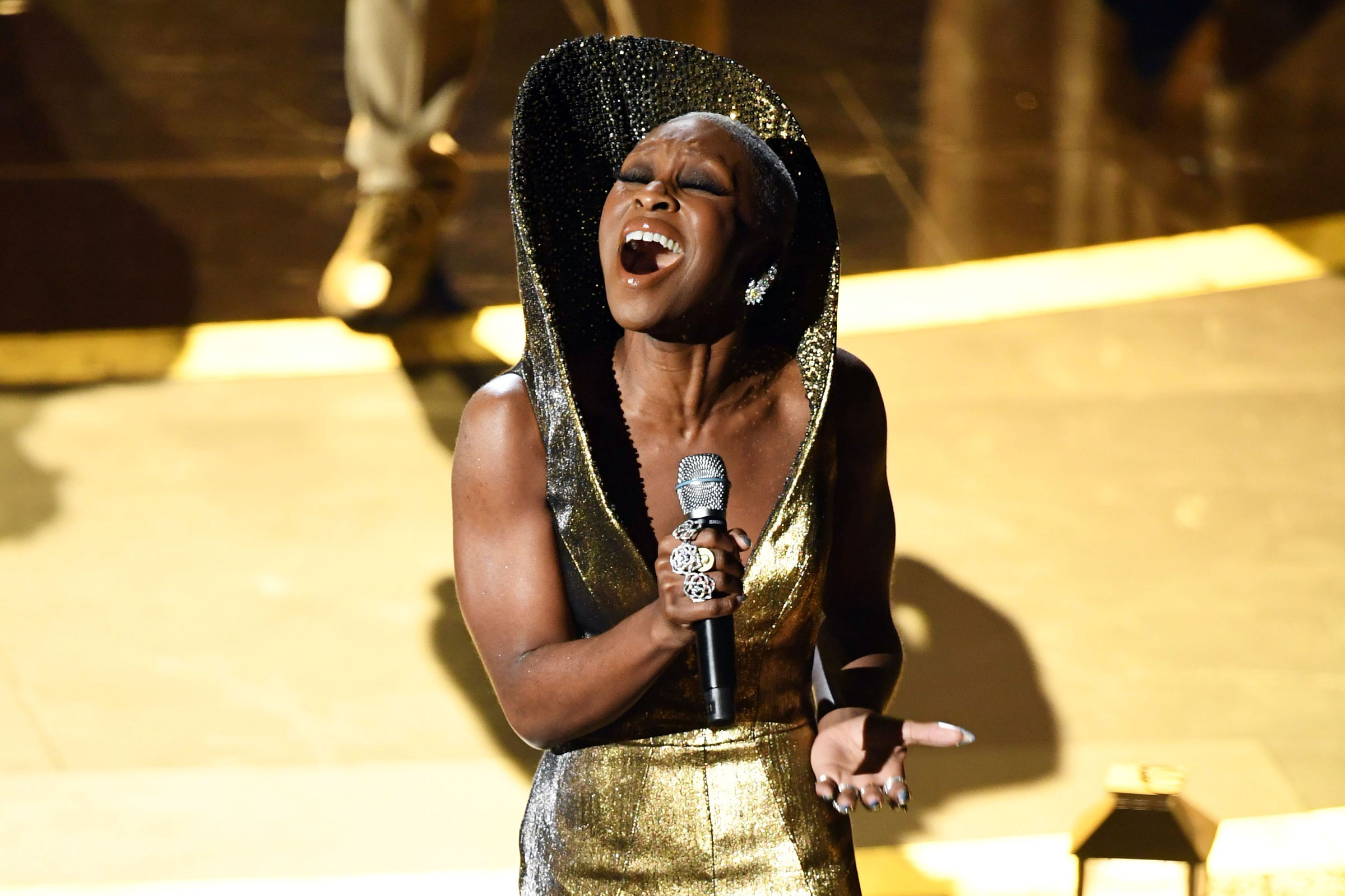 Cynthia Erivo Performed 'Stand Up' at the Oscars Backed by Gospel Singers