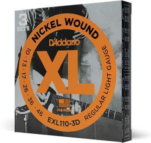 DAddario EXL110 3D Electric Guitar Strings