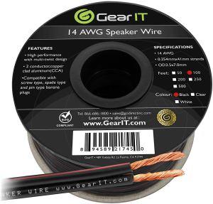 GearIt 14 Gauge Speaker Wire