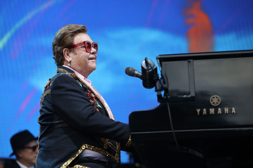 Elton John Cuts Concert Short After Bout With 'Walking Pneumonia'