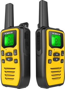 KomVox Long Range Walkie Talkie