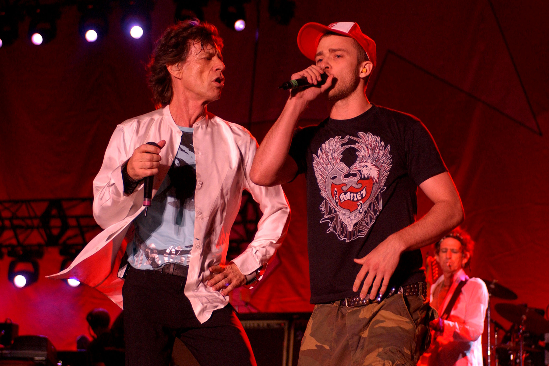 Flashback: The Rolling Stones and Justin Timberlake Battle SARS in 2003