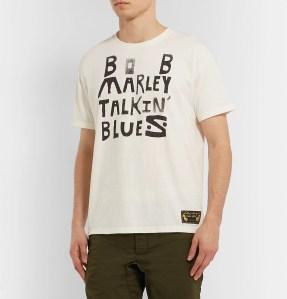 MrPorter Bob Marley Shirt