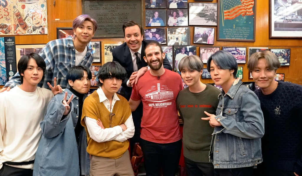BTS Will Premiere New Song, Tour NYC on 'Tonight Show Starring Jimmy Fallon'