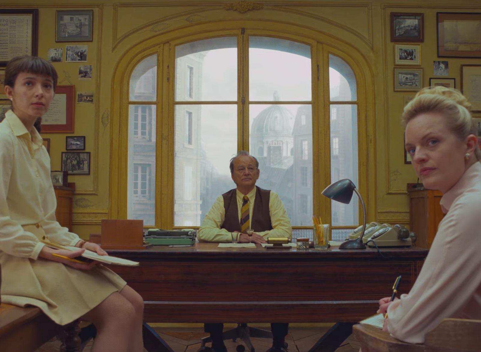 Bill Murray, Timothée Chalamet, Saoirse Ronan and More Star in Wes Anderson's 'The French Dispatch' Trailer