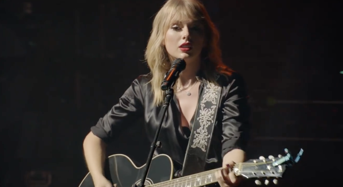 Watch Taylor Swift Perform The Man Live In Paris Rolling Stone