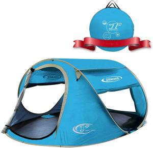 ZOMAKE Pop Up Tent 3-4 Person Beach Tent