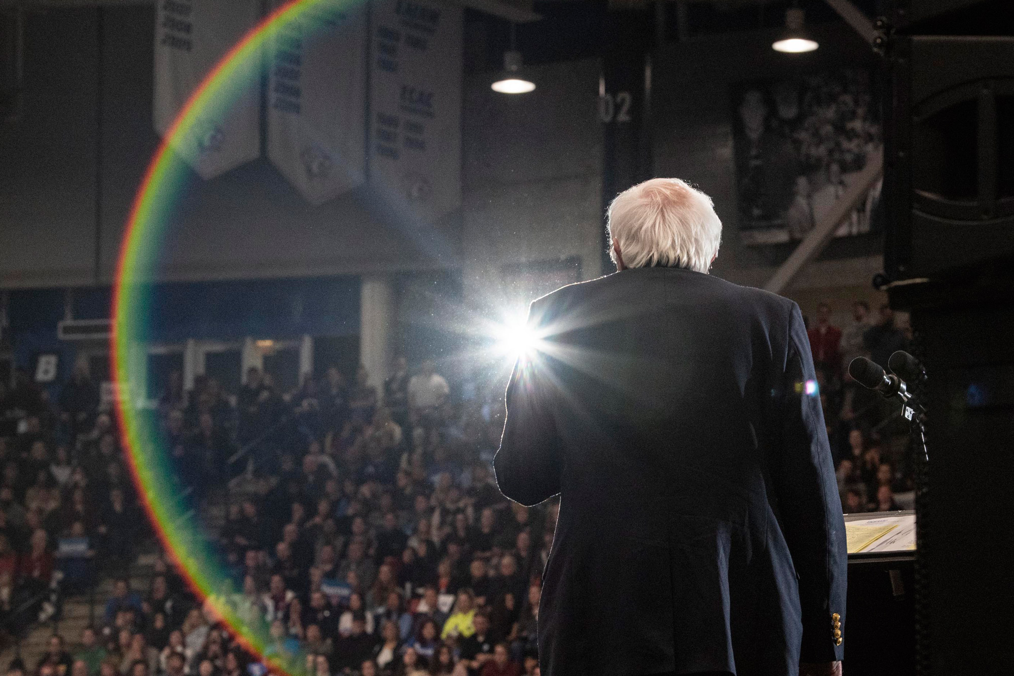 'Like Iowa Should Have Felt:' Scenes from Bernie Sanders' Victory March in New Hampshire