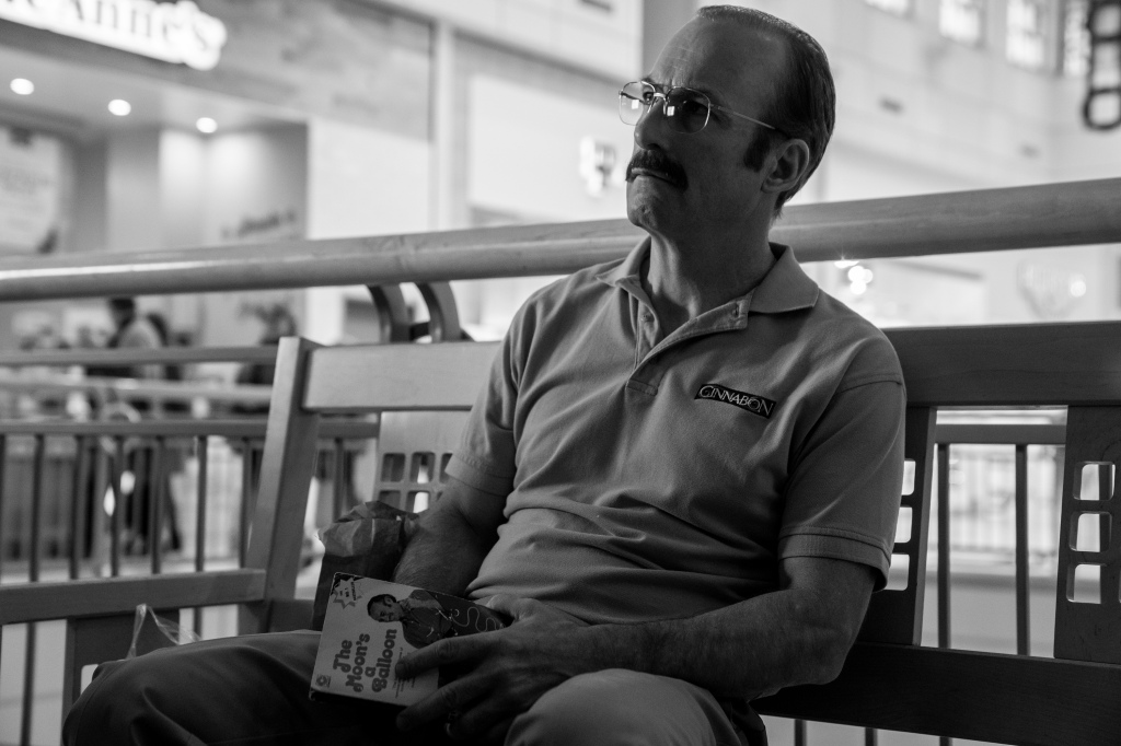 Bob Odenkirk as Gene - Better Call Saul _ Season 5, Episode 1 - Photo Credit: Warrick Page/AMC/Sony Pictures Television