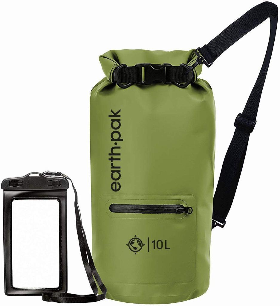 earth pak review dry bag