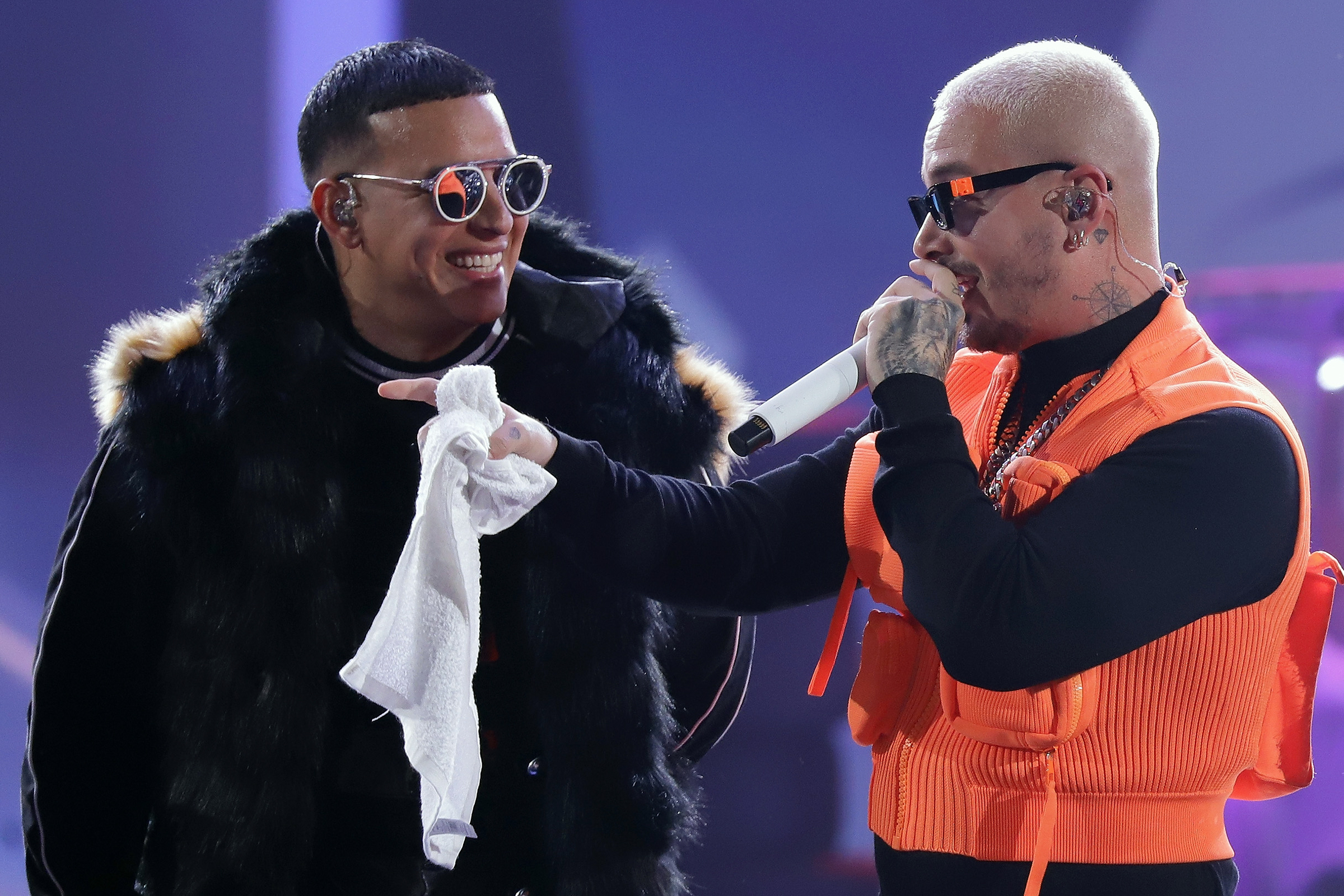 J Balvin, Daddy Yankee to Be Honored at Tonight's Premio Lo Nuestro: How to Watch