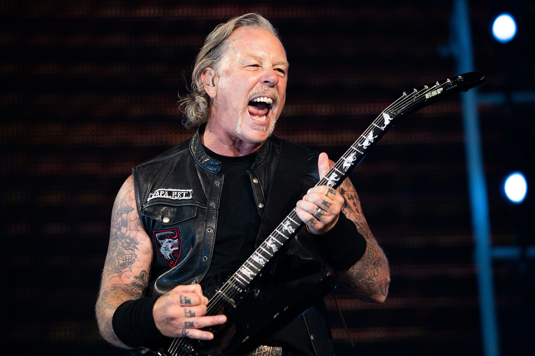 James Hetfield Returns to Stage With 'Baby Hold On' Cover at Eddie Money Tribute