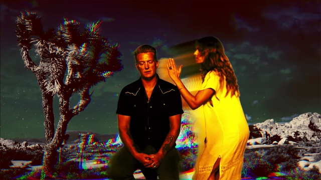 Josh Homme Picks Up a Hitchhiker and Hallucinates in 'If You Run' Video.jpg