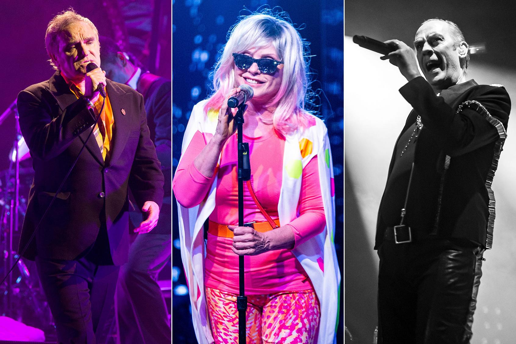 Morrissey, Blondie, Bauhaus to Headline First Cruel World Festival