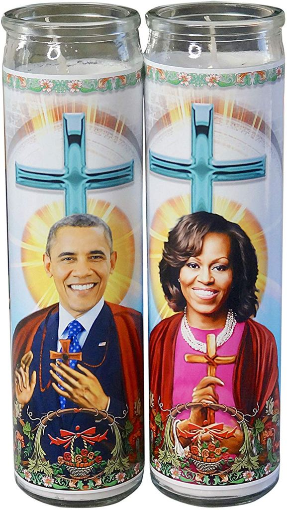 barack obama prayer candle michelle