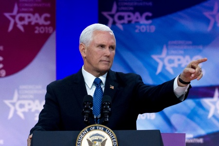Mike Pence Is Handling Coronavirus. But First, CPAC