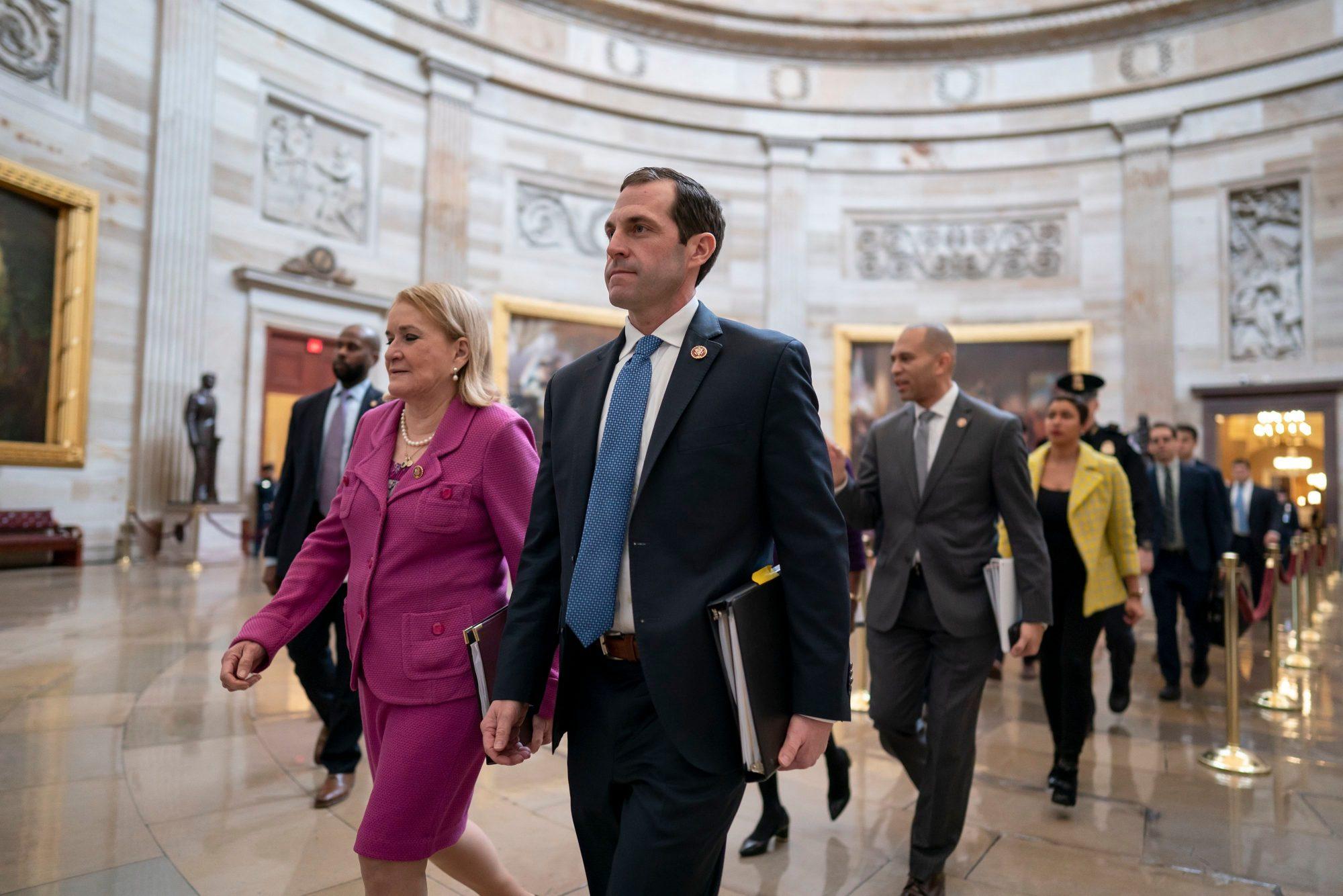 Can a Freshman Congressman Prosecute Trump for High Crimes -- and Still Keep His Faith in Humanity?