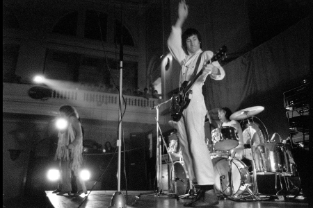The Who - Roger Daltrey, Pete Townshend and Keith MoonThe Who 'Live at Leeds' Concert, Leeds, Britain - Feb 1970
