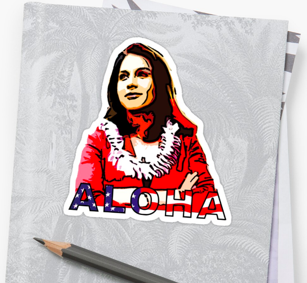 tulsi gabbard sticker 2020