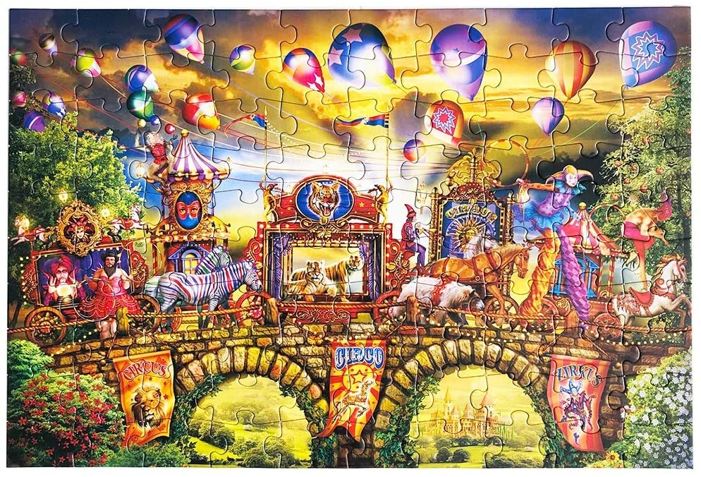 Circus Jigsaw Puzzle