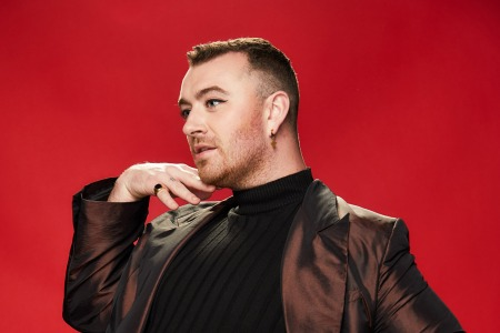 Sam SmithKIIS-FM iHeartRadio Jingle Ball, Backstage Portrait Studio, Los Angeles, USA - 06 Dec 2019