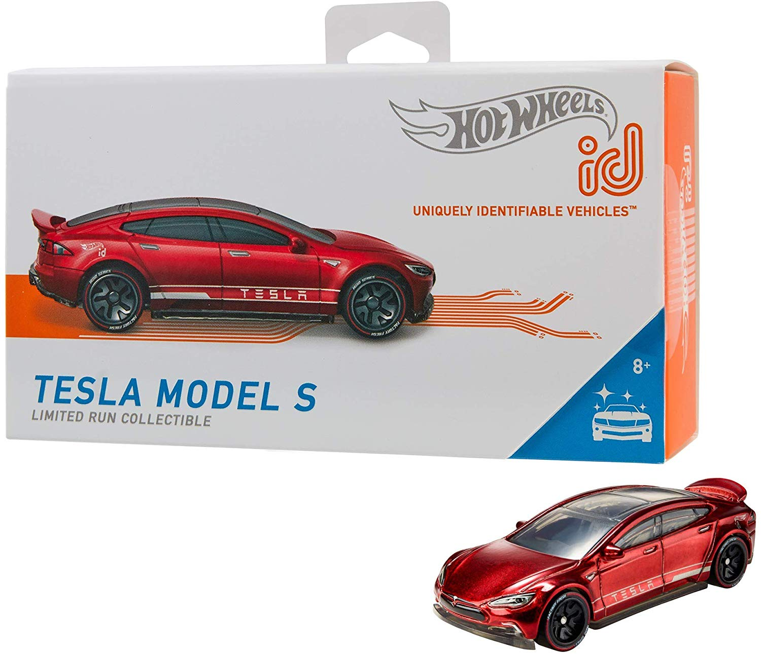 Hot Wheels id Tesla Model S